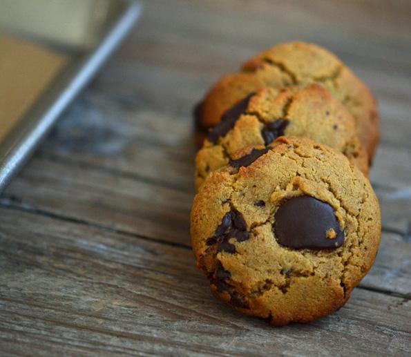 Gluten Free Paleo Like Chocolate Chip Cookies