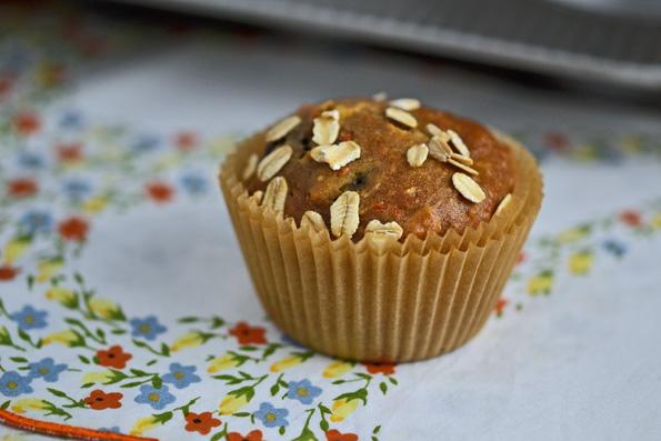 Gluten-Free Healthy Morning Glory Muffins