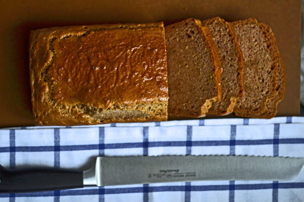 Wheat Belly Cookbook's Basic Bread – photos & a review!