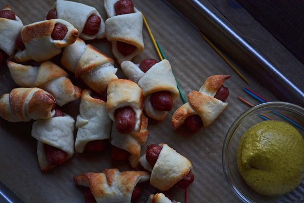 Gluten Free Pigs in a Blanket