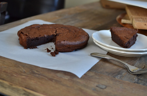 Flourless Chocolate Cake (gluten free)