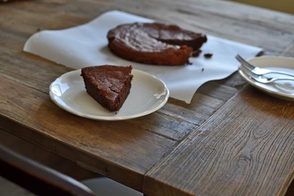 Flourless Chocolate Cake (gluten free)