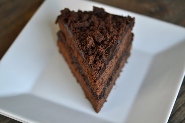Gluten Free Chocolate Chocolate Blackout Cake