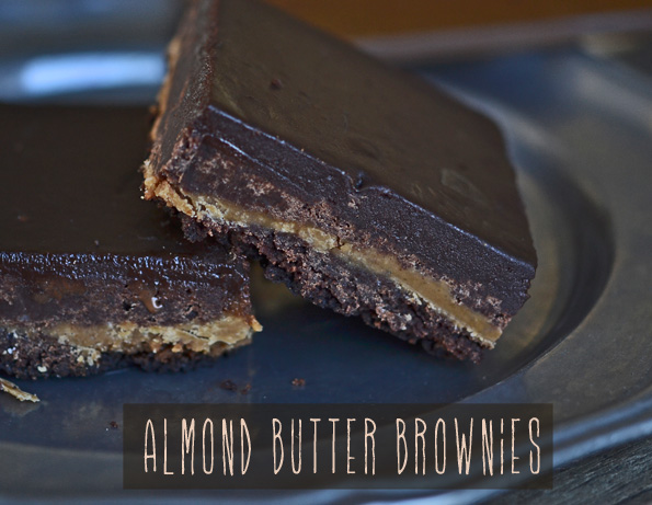 Gluten Free Almond Butter Brownies