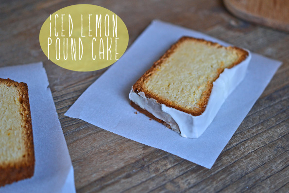 Gluten Free Starbucks Iced Lemon Pound Cake