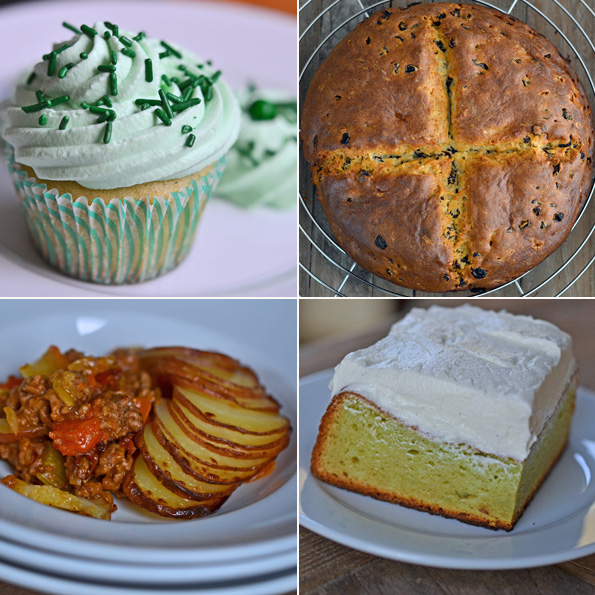 Your Gluten Free St. Patrick's Day Menu!