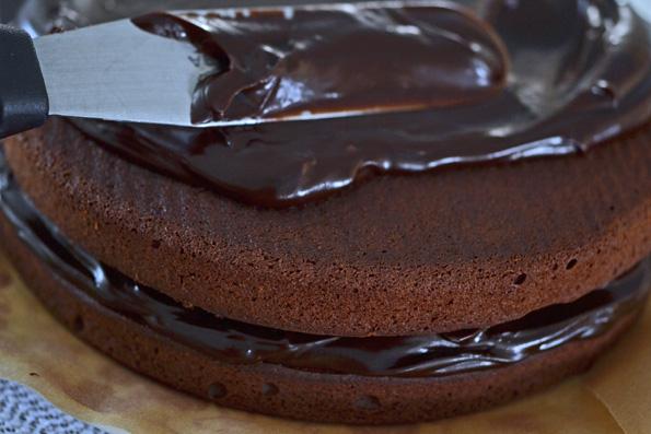Gluten Free Chocolate Chocolate Blackout Layer Cake