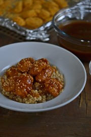Gluten-Free Chicken Dinner | Baked Sesame Chicken