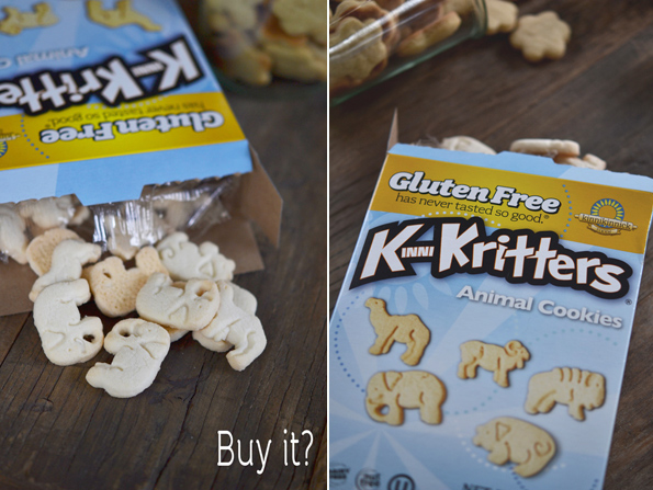 Gluten Free Animal Cracker Cookies: Make It or Buy It?