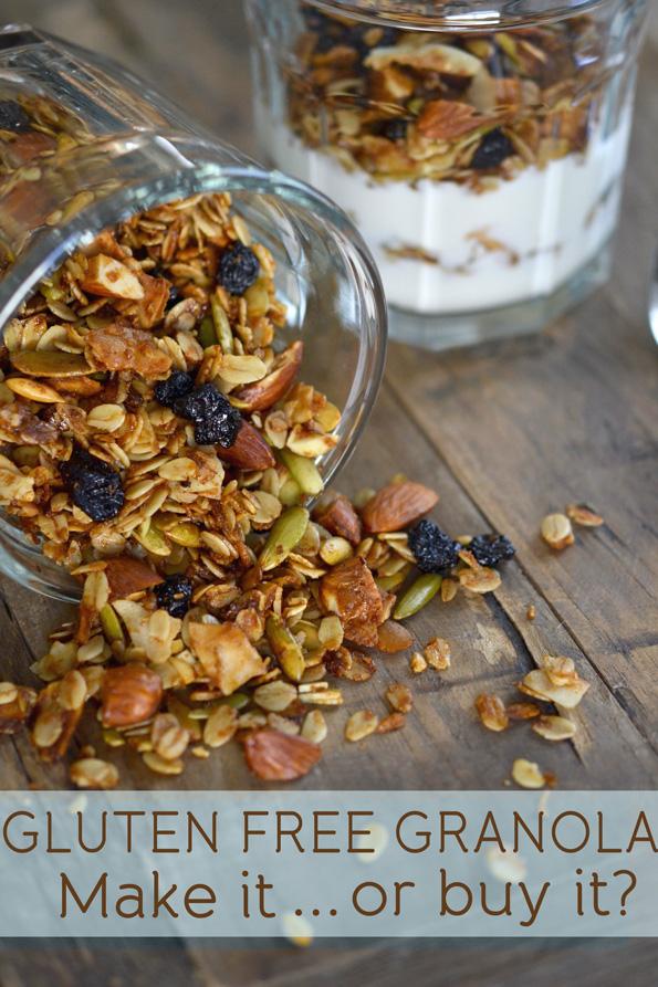 Gluten Free Granola: Make It Or Buy It?