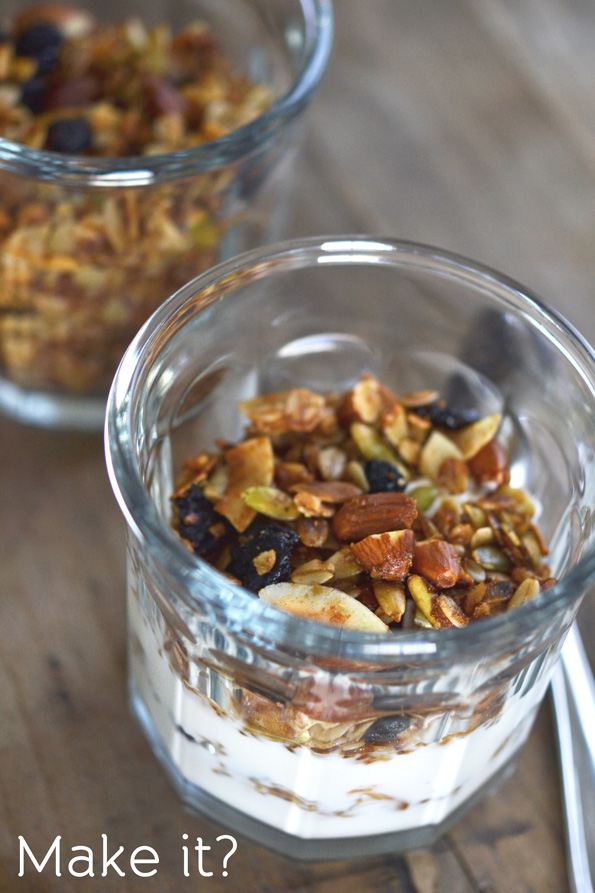 ... Grains Oats & Honey Clusters gluten free granola. And, seriously