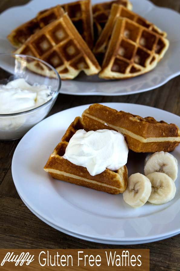 Fluffy and Soft Gluten Free Waffles