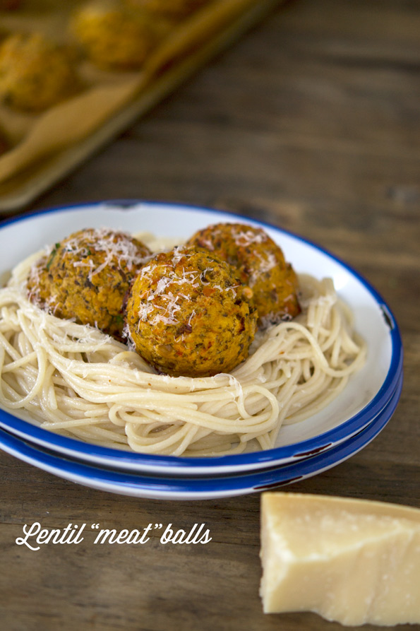 Gluten Free Vegetarian Meatballs (with Red Lentils & Mushrooms ...