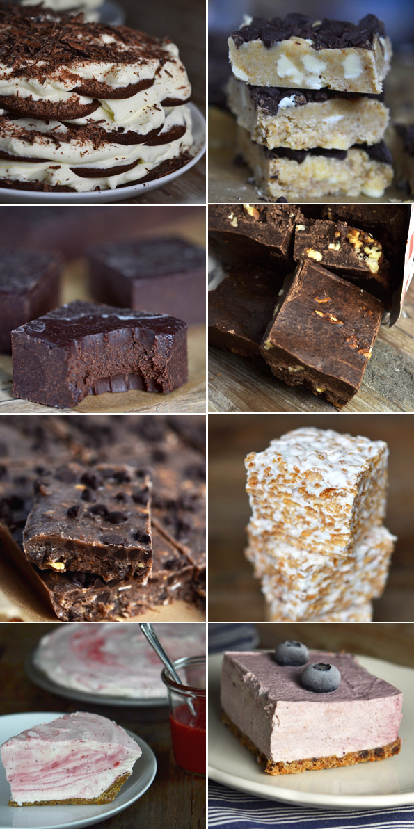 No Bake Gluten Free Bar & Pie Recipes