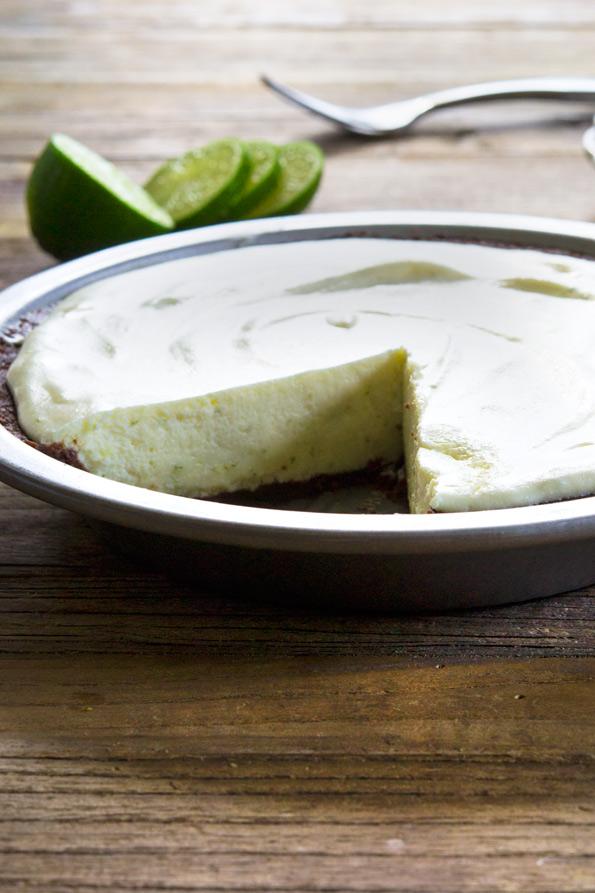 No Bake Gluten Free Key Lime Pie