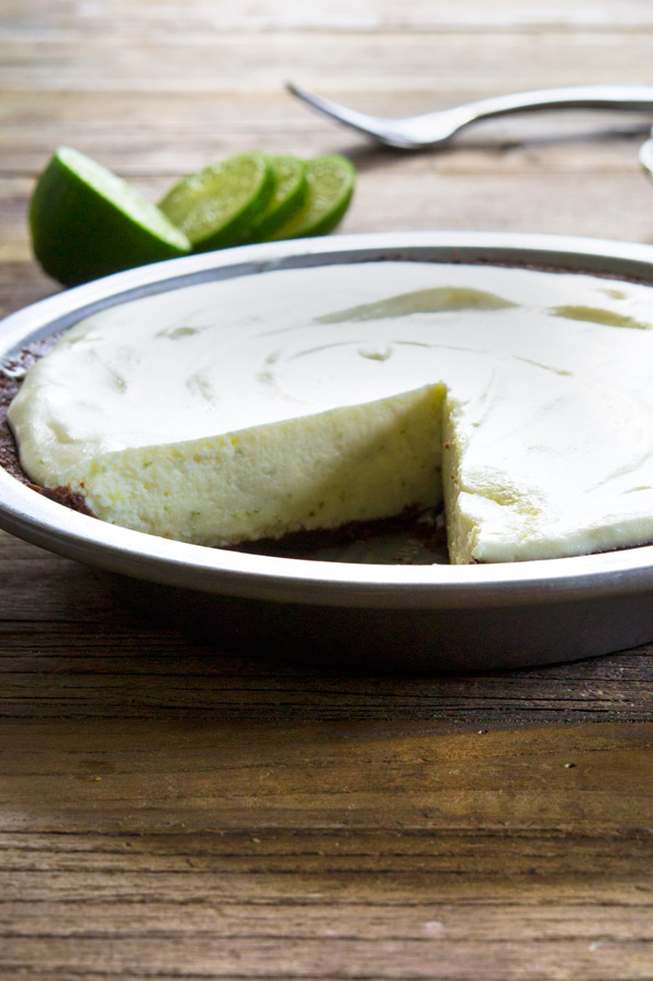 No Bake Gluten Free Key Lime Pie