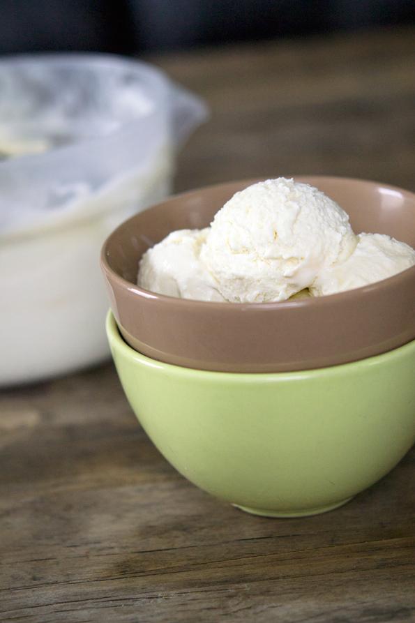 3-ingredient Gluten Free Ice Cream - no machine required!