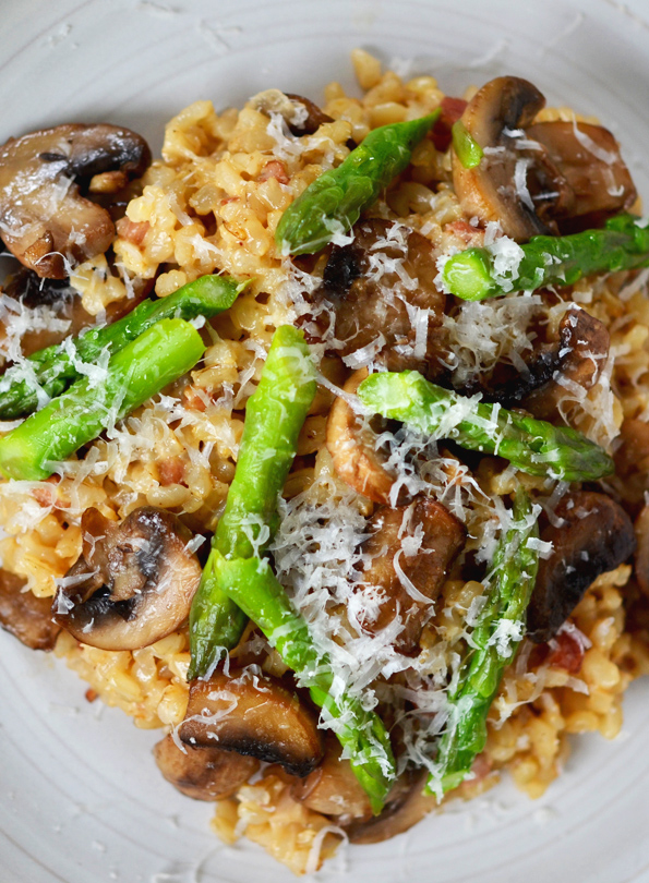 Gluten Free Brown Rice Risotto Recipe