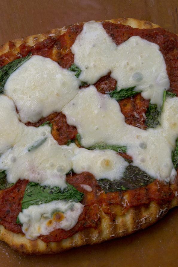 Grilled Gluten Free Pizza