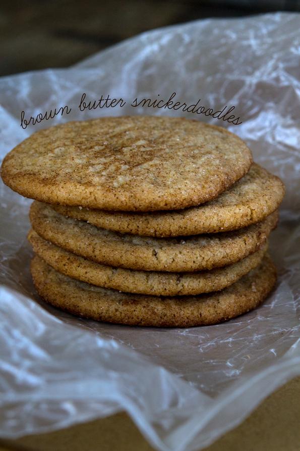 Brown Butter Gluten Free Snickerdoodles