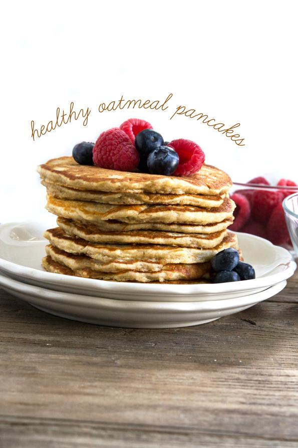Healthy Oatmeal Gluten Free Pancakes