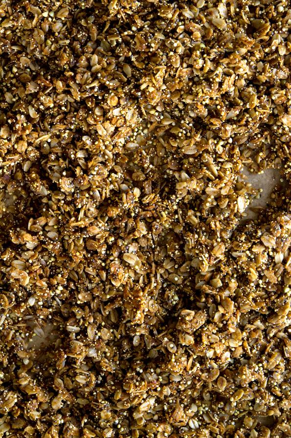 Gluten Free Granola: Copycat KIND Maple Quinoa Clusters