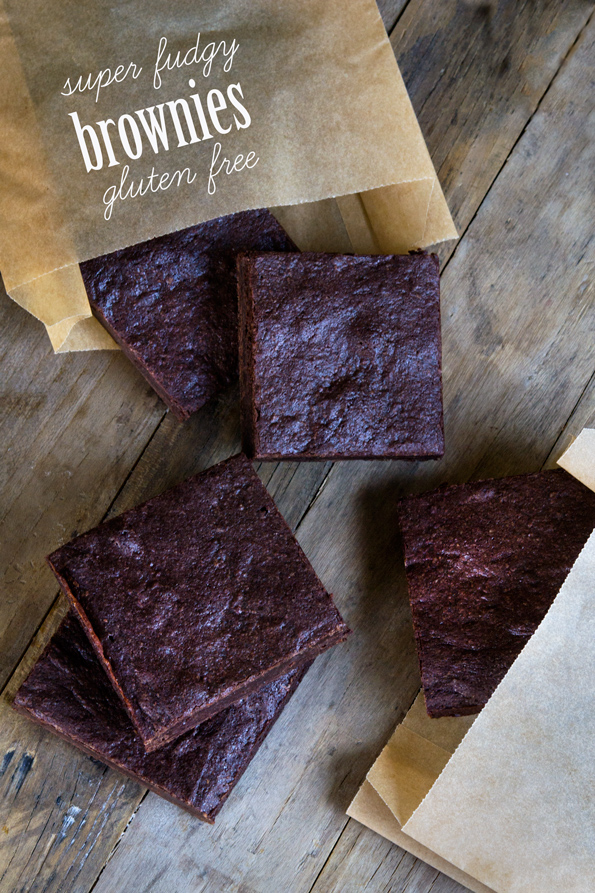 Super Fudgy Gluten Free Brownies