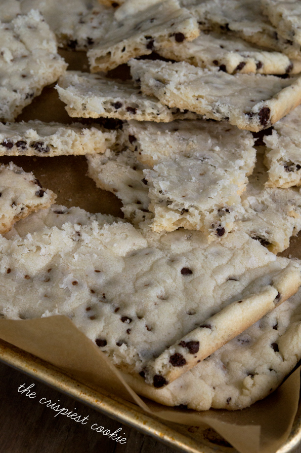 The Crispiest Gluten Free Chocolate Chip Cookies