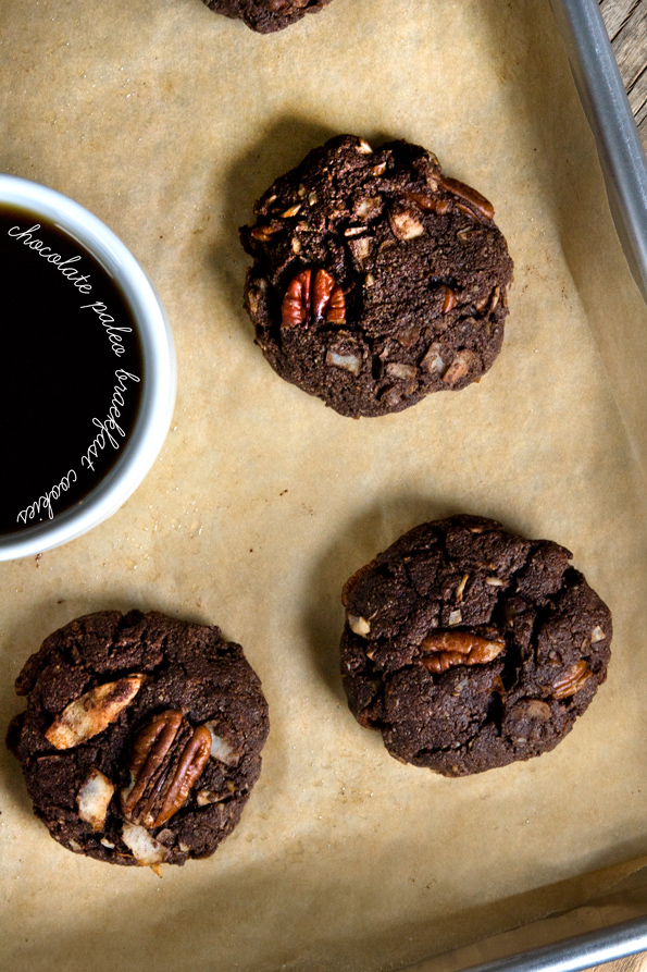Chocolate Paleo Breakfast Cookies