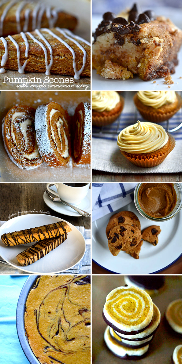 Gluten Free Pumpkin Baking Recipes