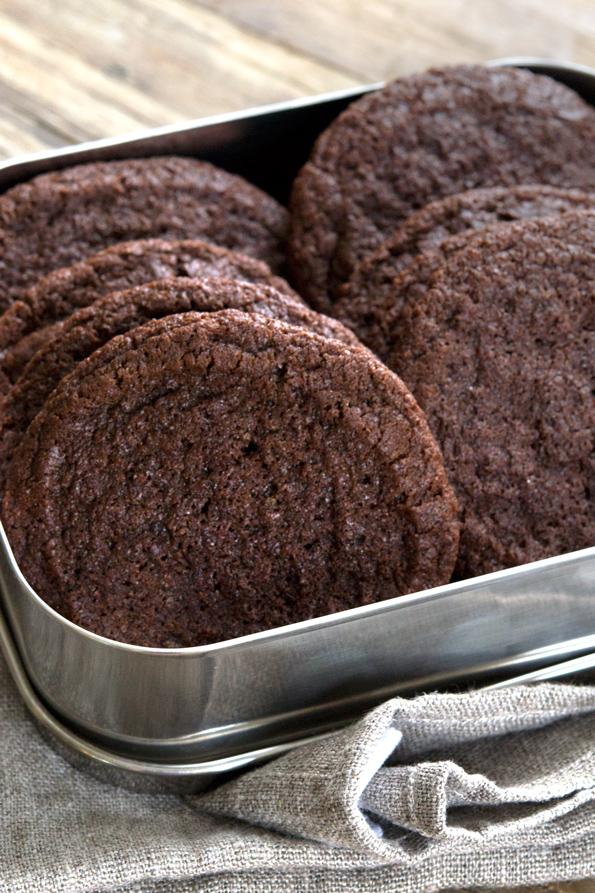 Soft Gluten Free Brownie Cookies