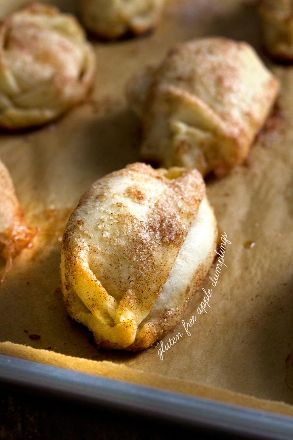 Gluten Free Apple Dumplings