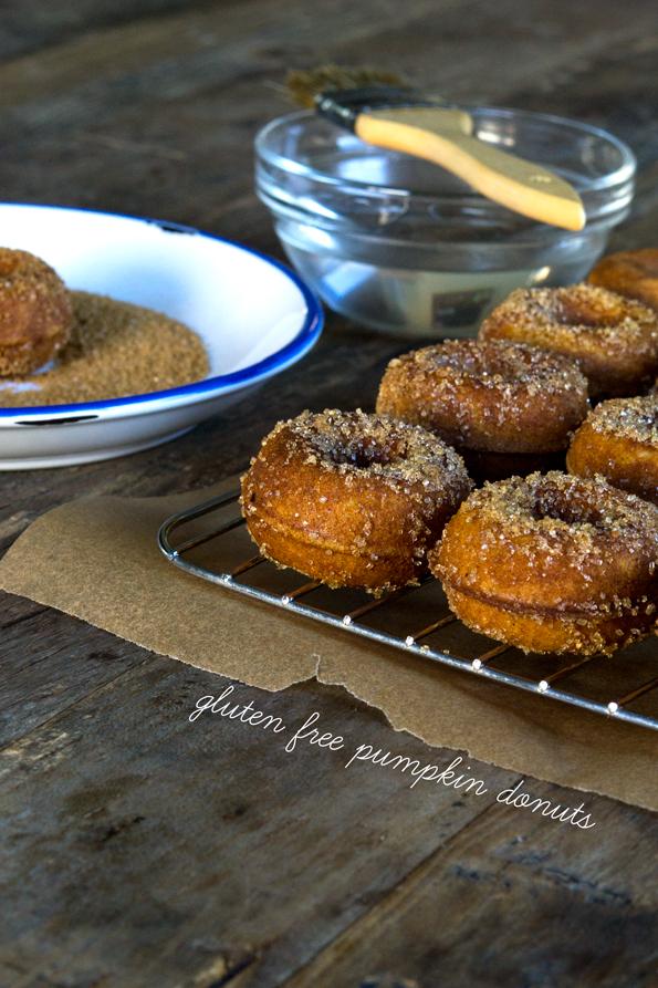 Gluten Free Pumpkin Donuts