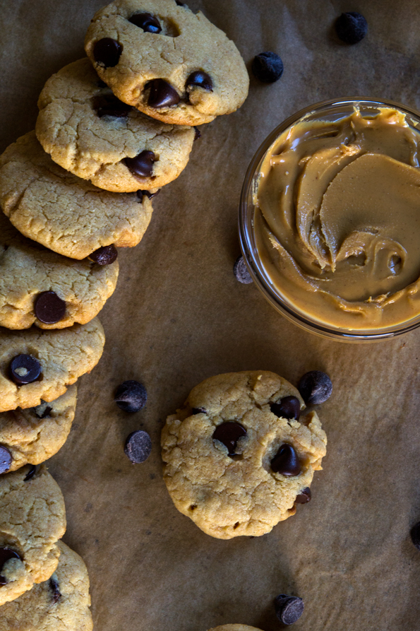 Gluten Free Peanut Butter Cake Mix Chocolate Chip Cookies ...