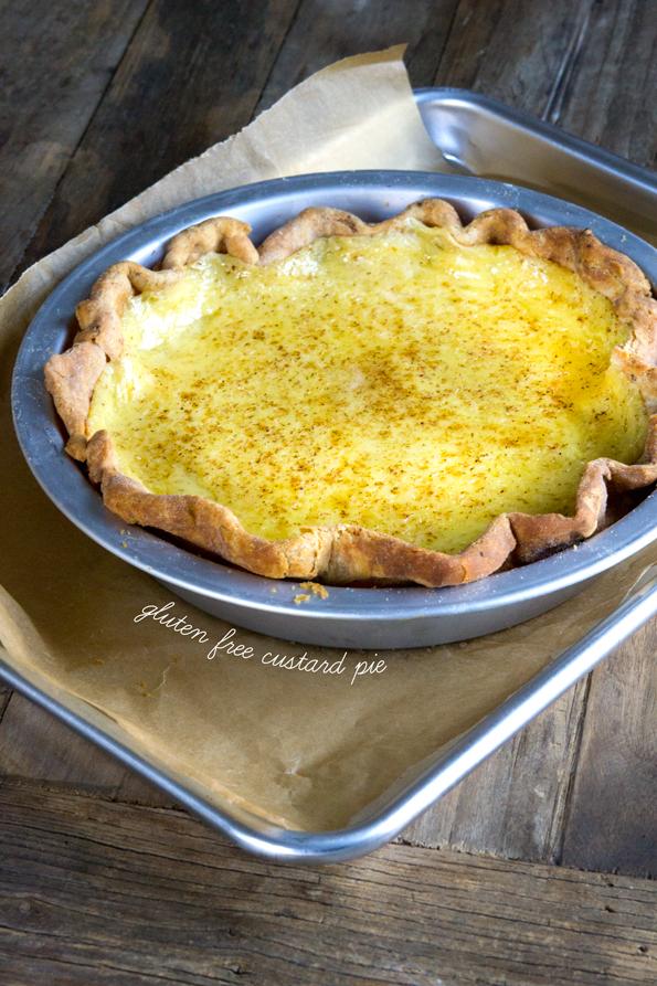 Gluten Free Custard Pie