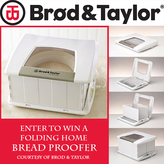 Enter to win a Brod and Taylor folding bread proofer and yogurt maker!