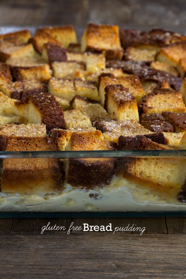 Gluten Free Bread Pudding