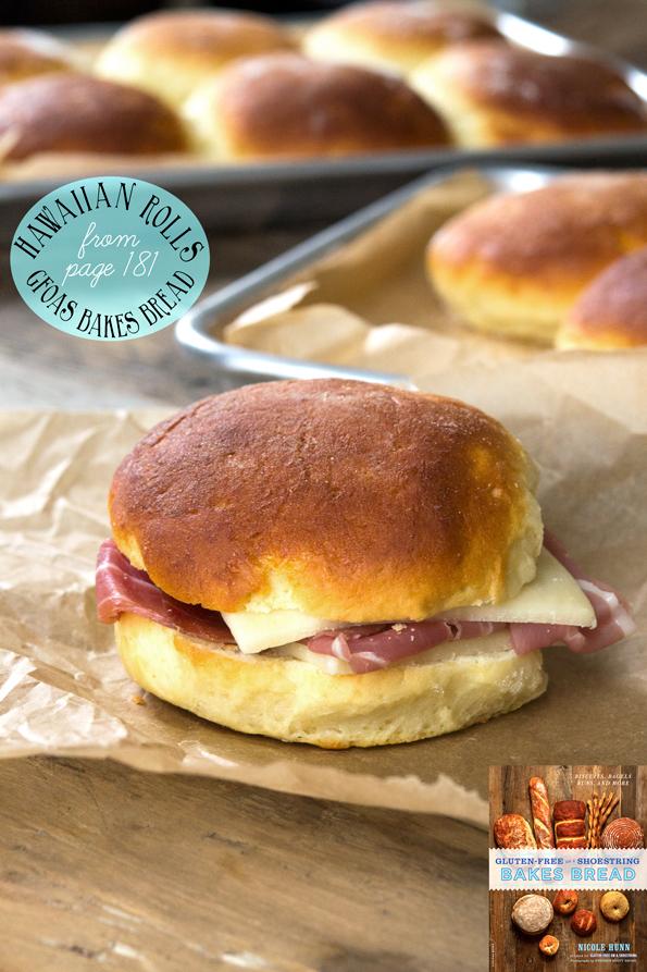 Gluten Free Hawaiian Rolls from Bakes Bread – plus shaping videos!