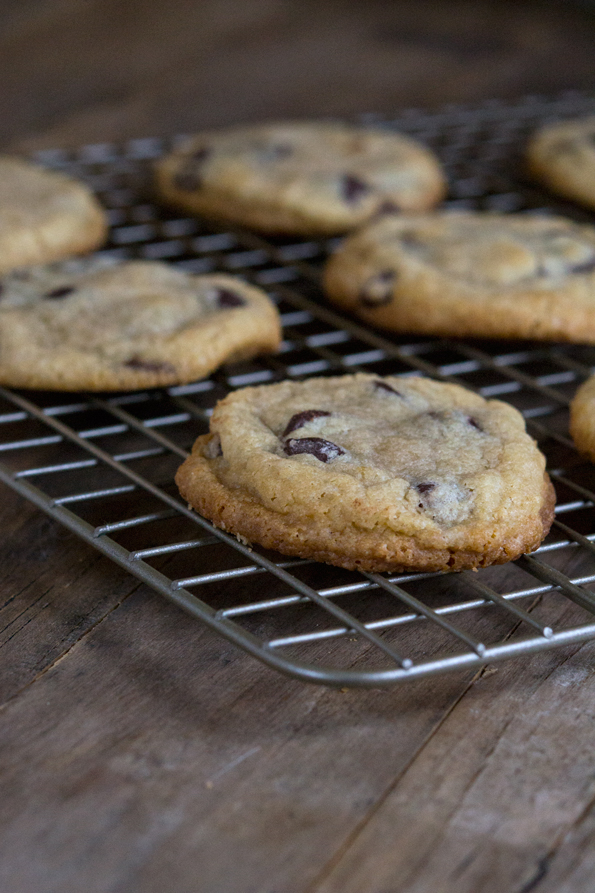 Gluten Free Soft Batch Chocolate Chip Cookies. Just like the Keebler Soft Batch cookies, these gluten free soft batch chocolate chip cookies taste like they're just out of the oven!