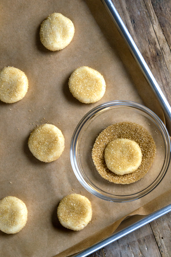 Gluten Free Drop Sugar Cookies
