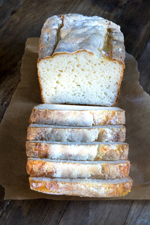 Gluten Free English Muffin Bread from GFOAS Bakes Bread