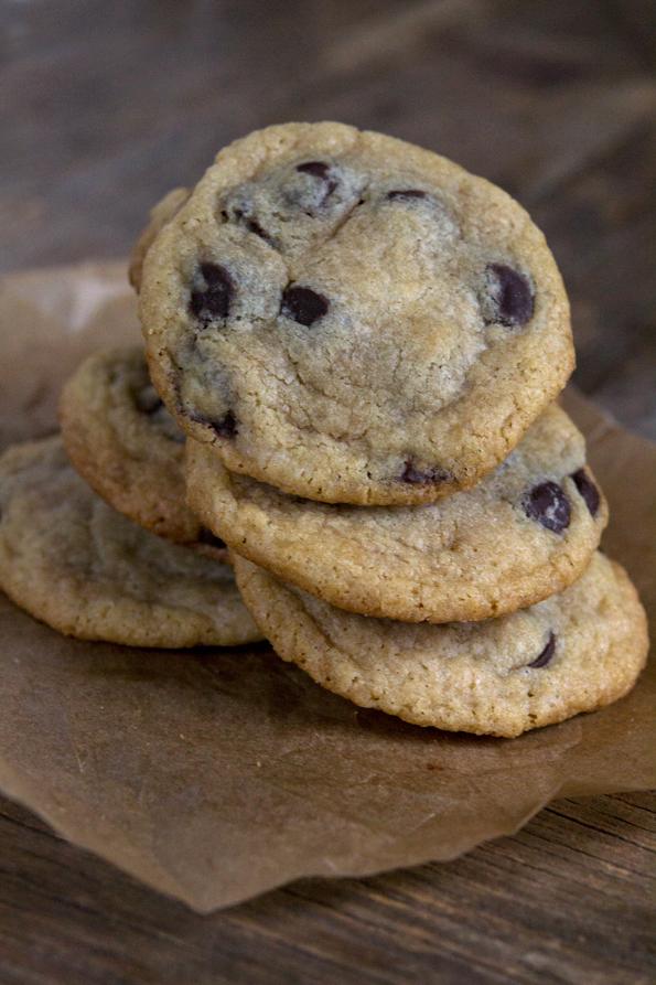 Gluten Free Soft Batch Chocolate Chip Cookies