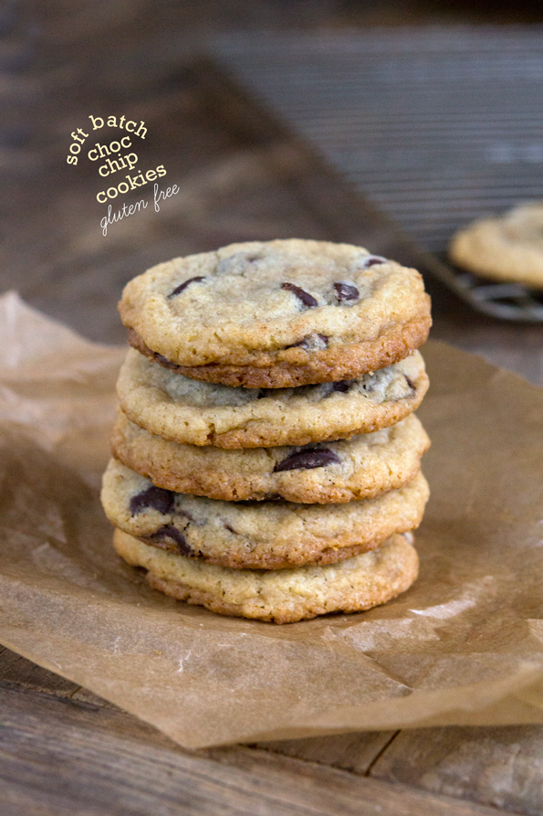 Gluten Free Soft Batch Chocolate Chip Cookies | Gluten Free on a ...