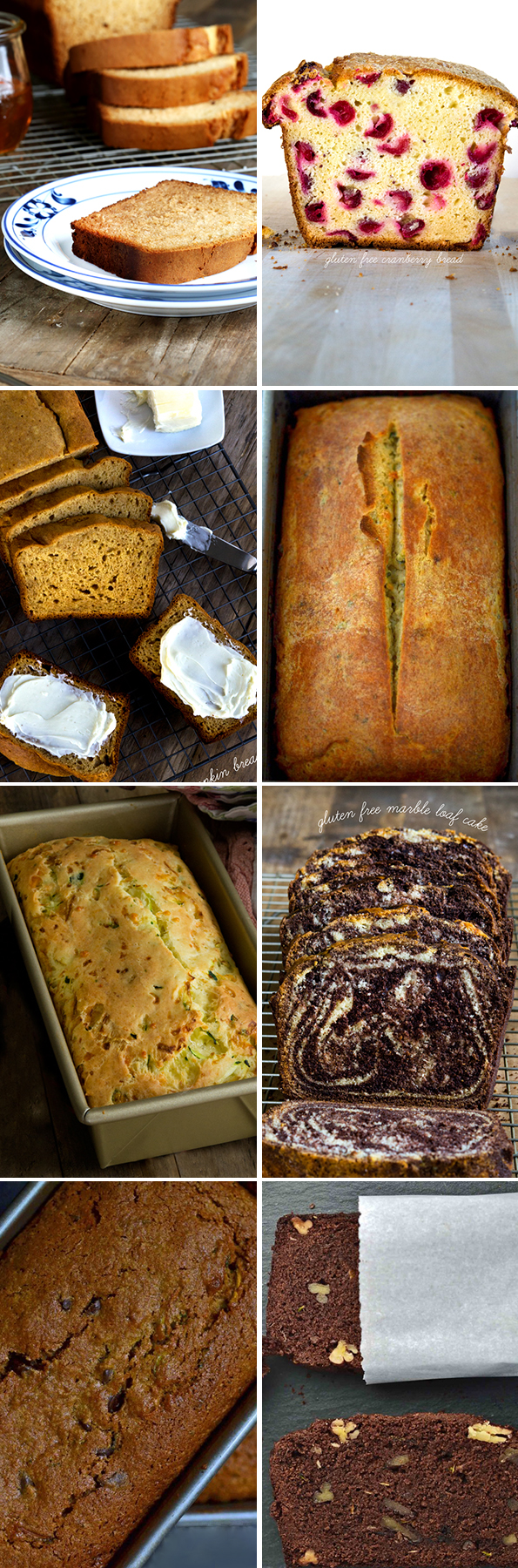Gluten Free Quick Bread Recipes - Great gluten free recipes for every ...