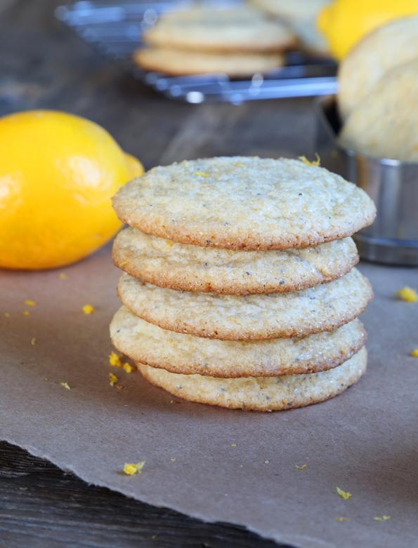 Gluten Free Lemon Poppyseed Cookies - Gluten Free on a ...