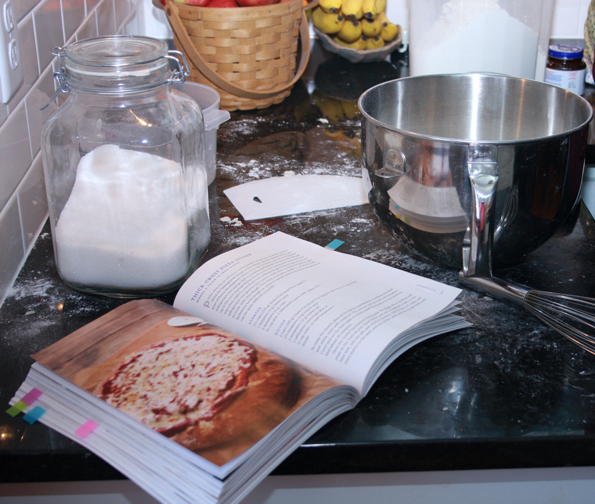 Baking Gluten Free Pizza from GFOAS Bakes Bread