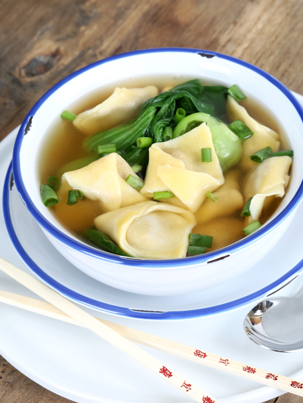 The Best Gluten Free Won Ton Wrappers + Won Ton Soup