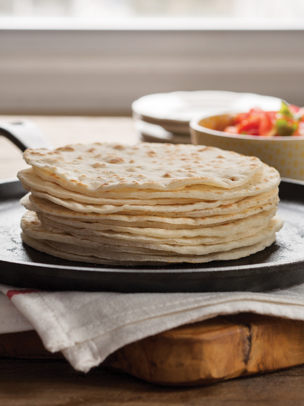 Gluten Free Flour Tortillas from GFOAS Bakes Bread