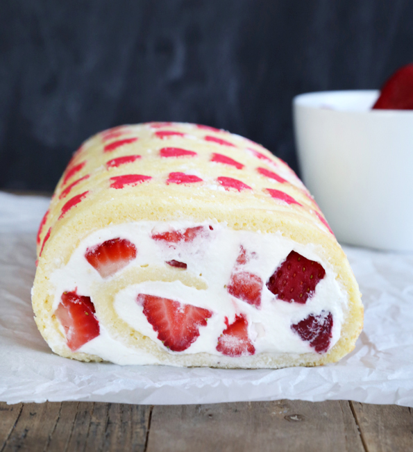 Gluten Free Strawberry Cake Roll - Great gluten free recipes for every ...