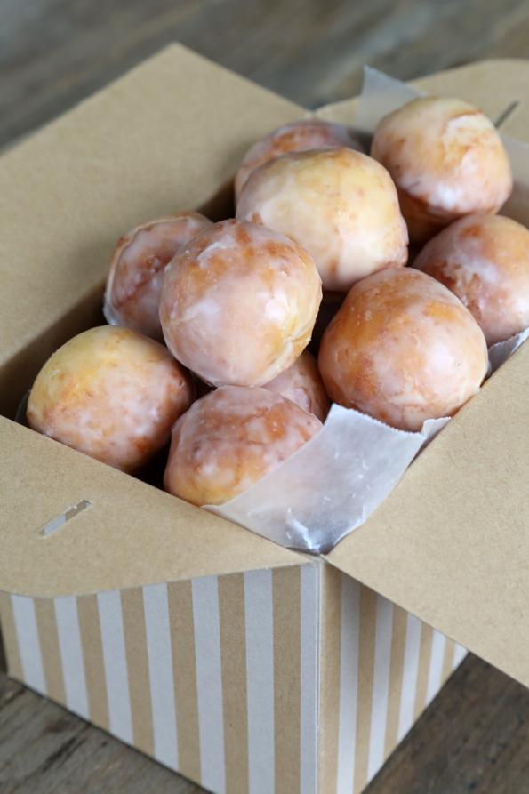 Glazed Gluten Free Donut Holes